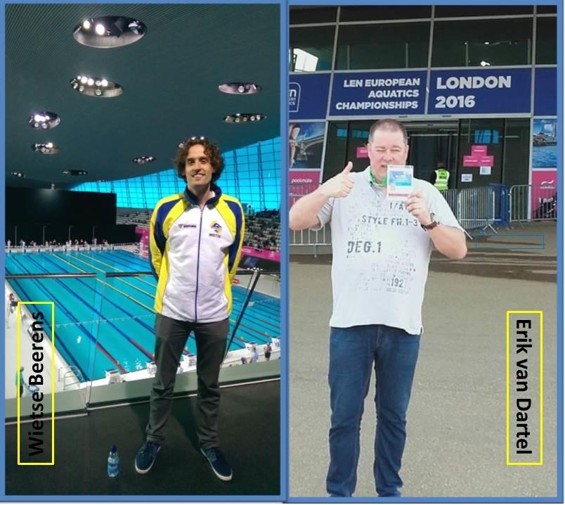 Beerens en Van Dartel bij EK Masters Londen