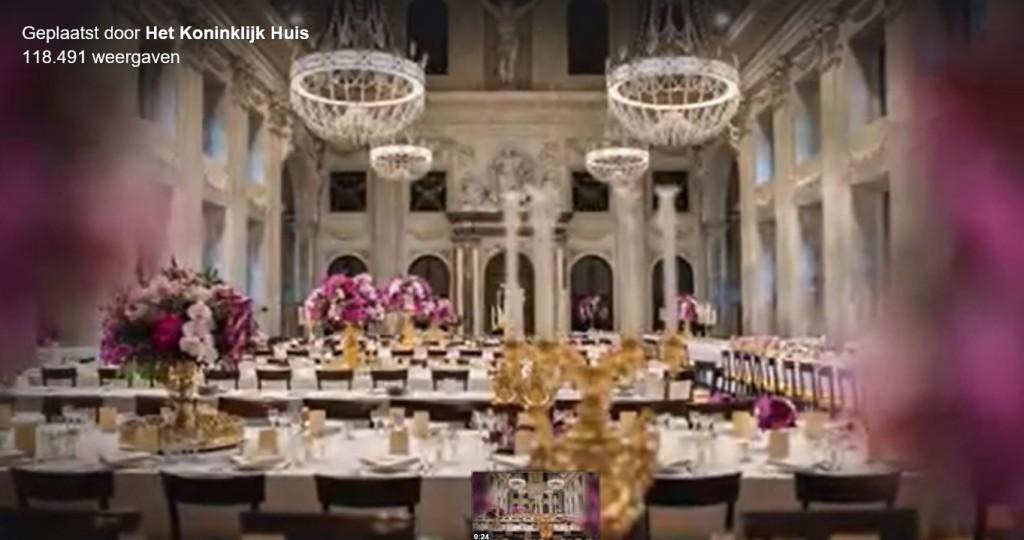 Dineren met Koning Willem-Alexander