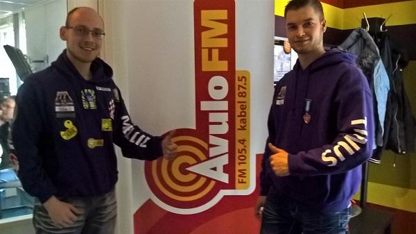 Martijn de Jong en Melvin van Beurden